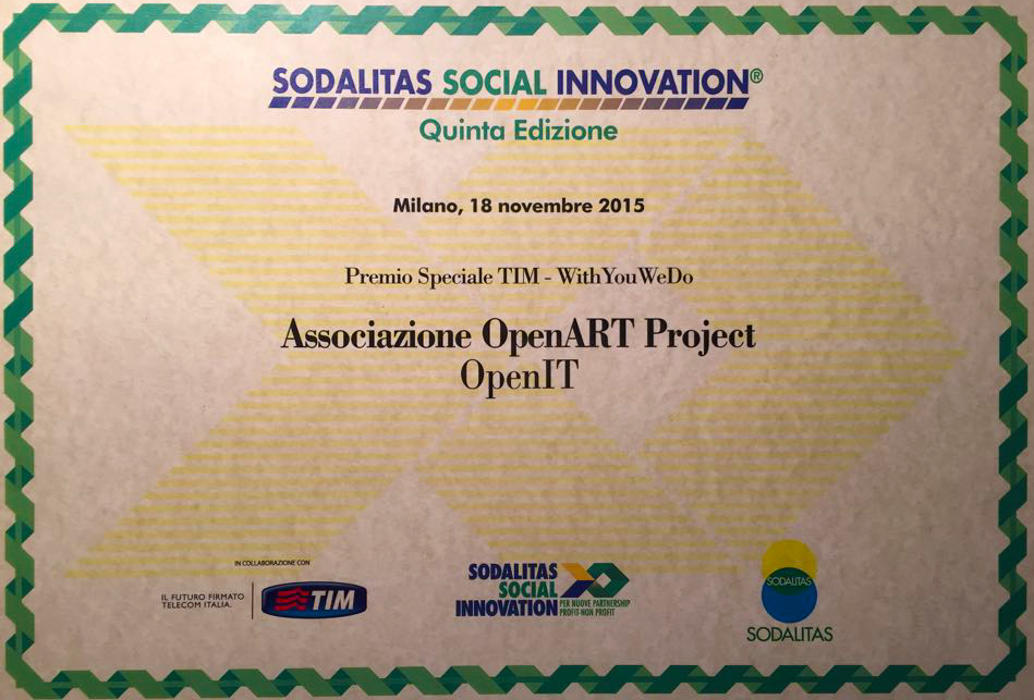 Certificato social innovation